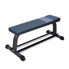 BodyWorx Flat Bench with Rack C302FB