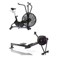 Airmill Air bike and Concept 2 Rower Package