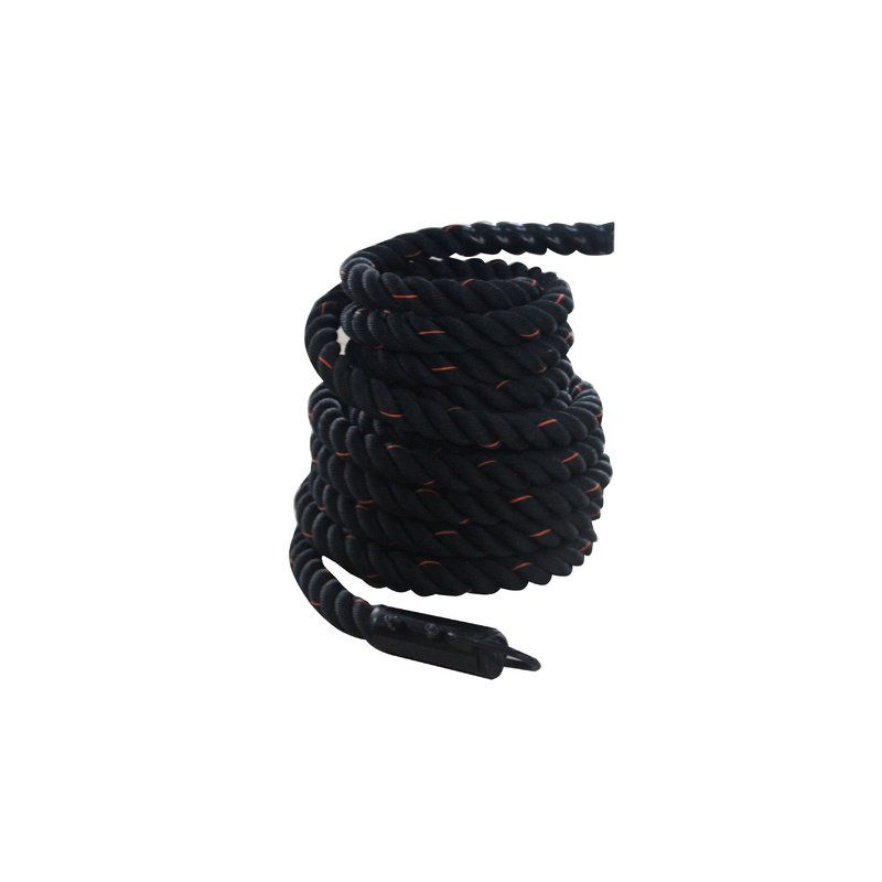 Battle Rope with Hook - 15m x 38mm