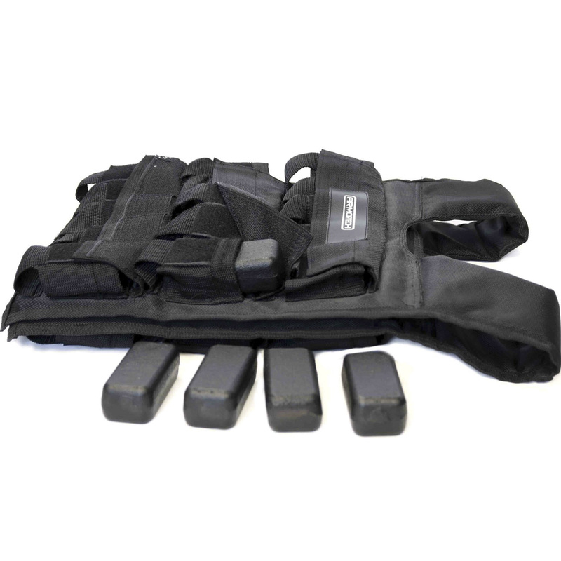 Adjustable weight vests 10 - 30 KG Armortech