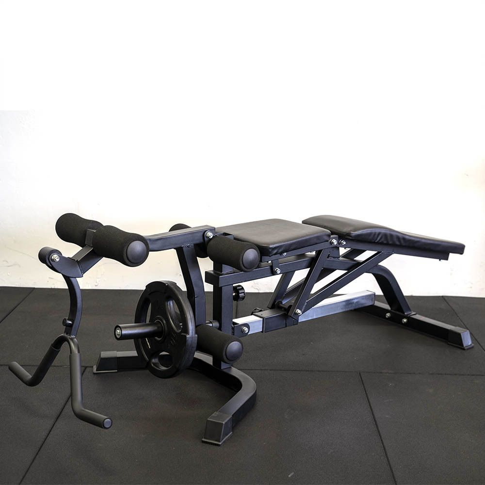 Armortech FID-379 Adjustable weight Bench With Preacher Curl and Leg Extension