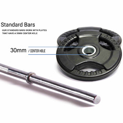 Armortech 6ft Standard Bar 300lbs
