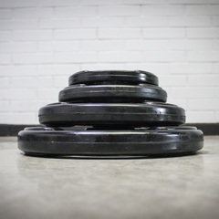 Standard Barbell Rubber Weight Plates ( 28mm)
