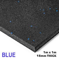 Armortech Rubber Gym Flooring Mats 1x1m x 15mm