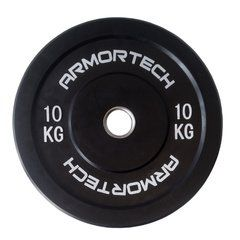 Armortech V2 Black Bumper 10kg - Single Plate
