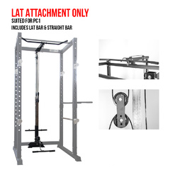 Lat  Attachment for PC1 Power Cage