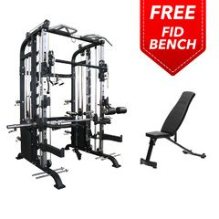 Armortech F100 Infinity Functional Trainer + FID300 Bench