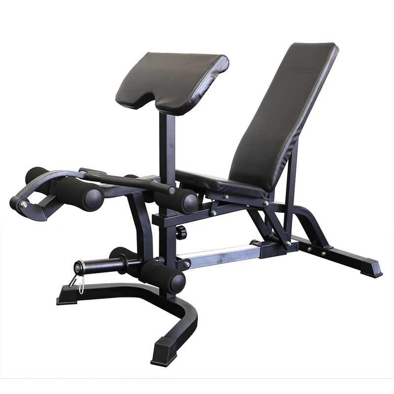 Armortech FID-379 Bench With Preacher Curl and Leg Extension